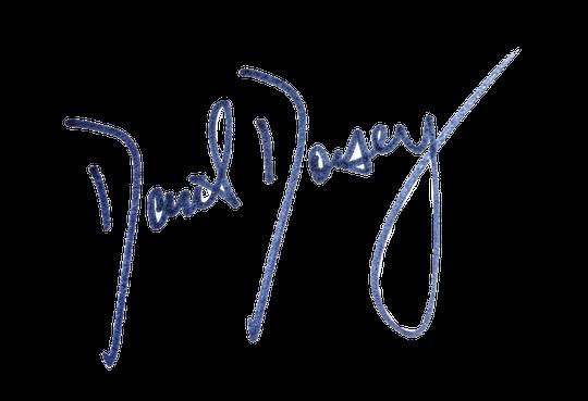 David Dorsey signature