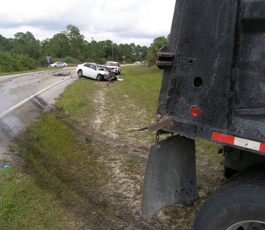 FHP is investigating a fatal crash involving a Honda and a dump truck in Lehigh Acres.