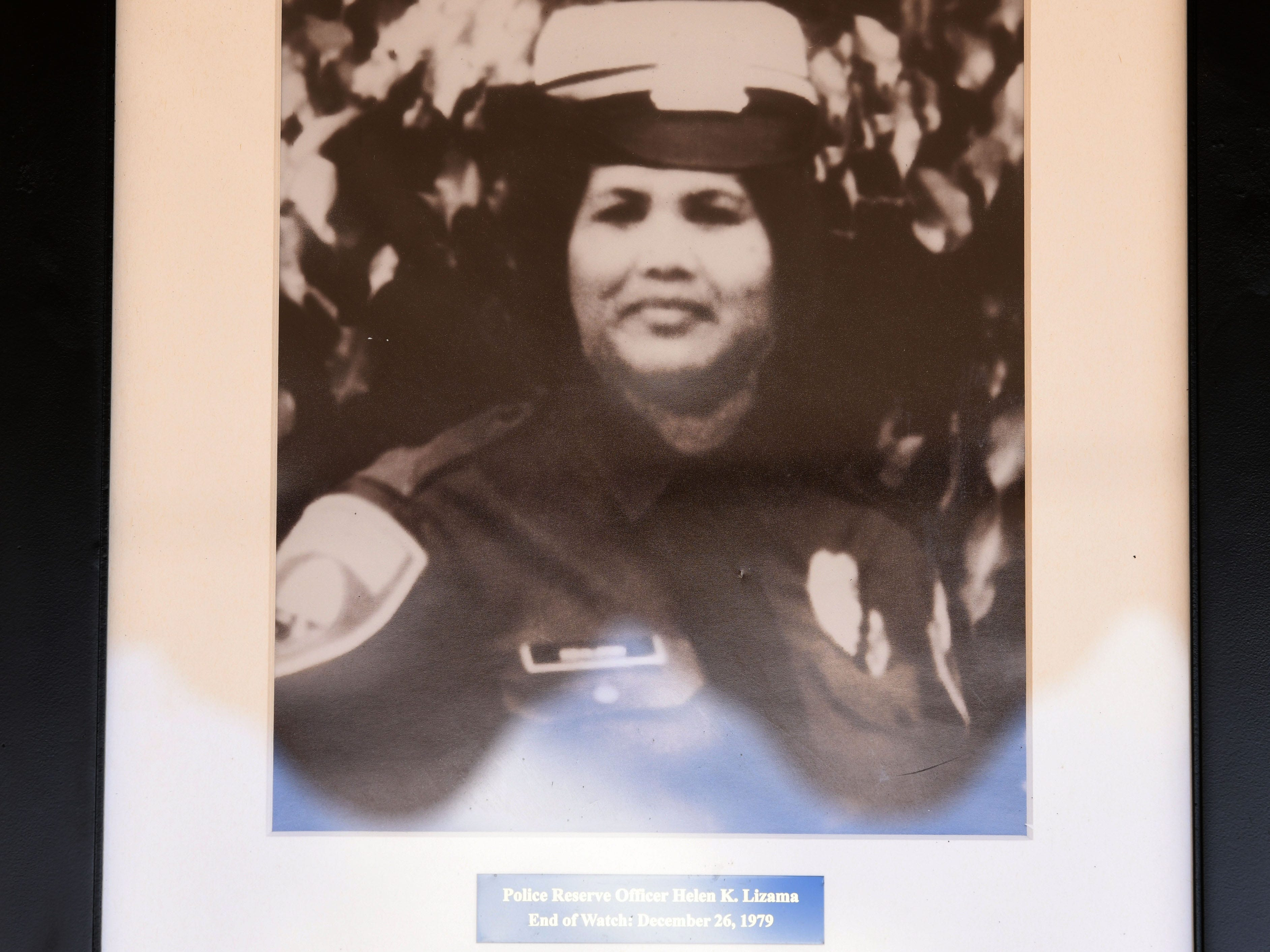 Police Reserve Officer Helen Lizama