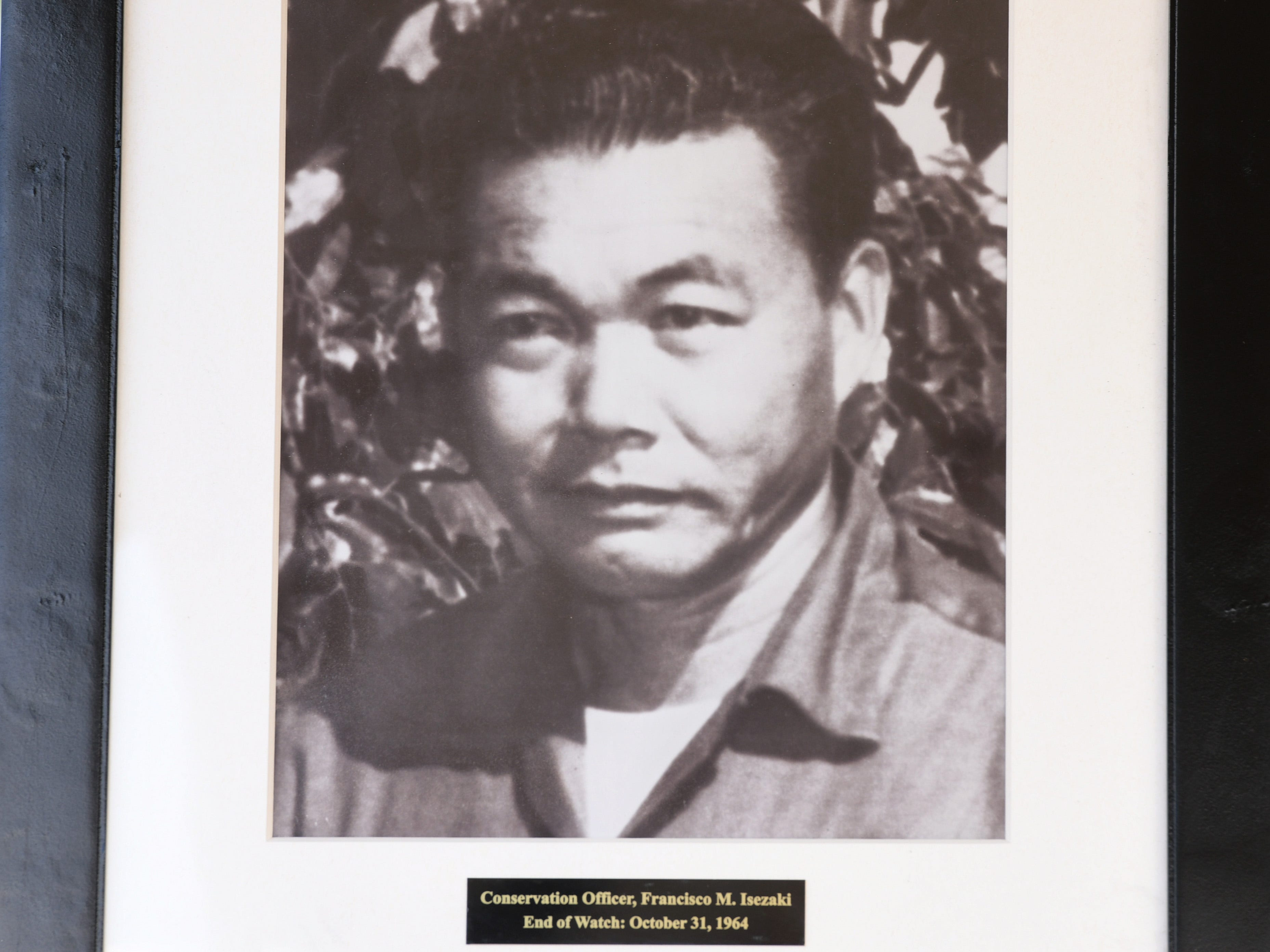 Conservation Officer Francisco Isezaki