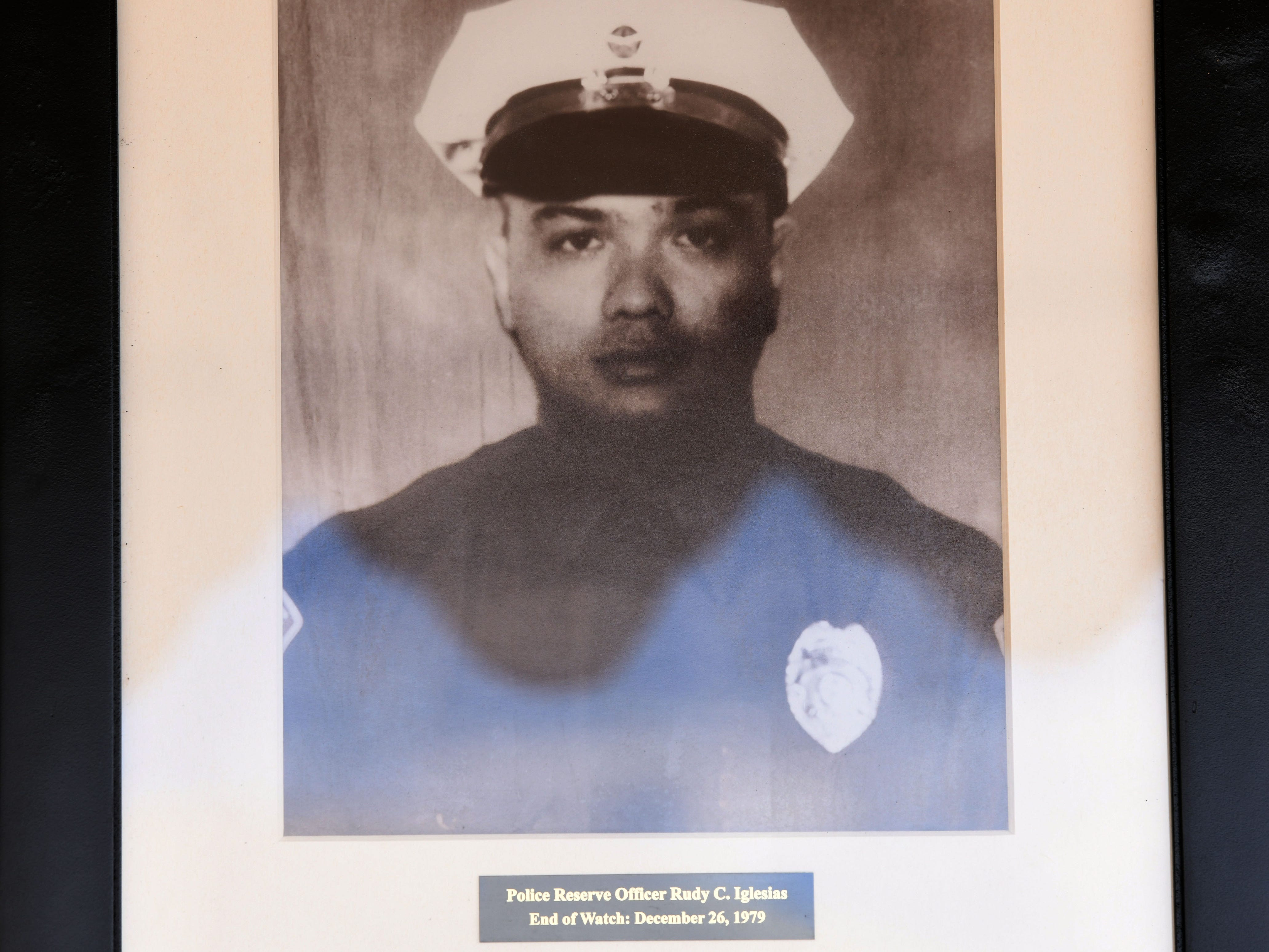 Police Reserve Officer Rudy Iglesias