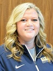 Breena Smith holds Marian softball's record for career wins.