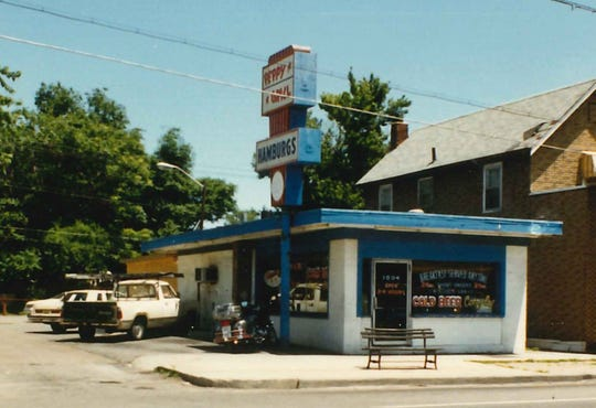 An old shot of Peppy Grill shows a window advertising cold beer. Suds return when the Fountain Square restaurant, 1004 Virginia Ave., reopens in spring 2019 following renovations.