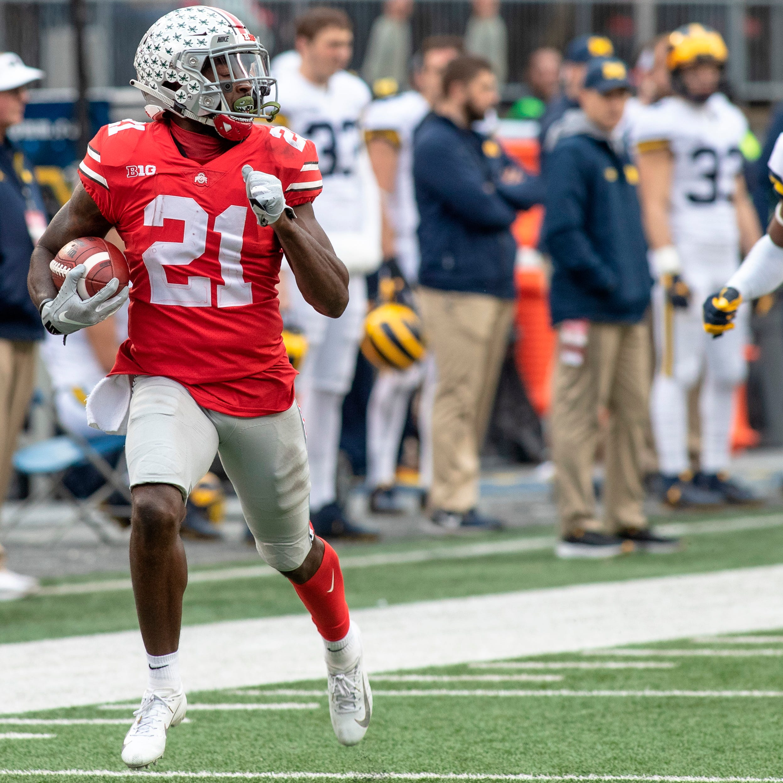 Doyel: How it sounds when Chris Ballard watches Parris Campbell on film
