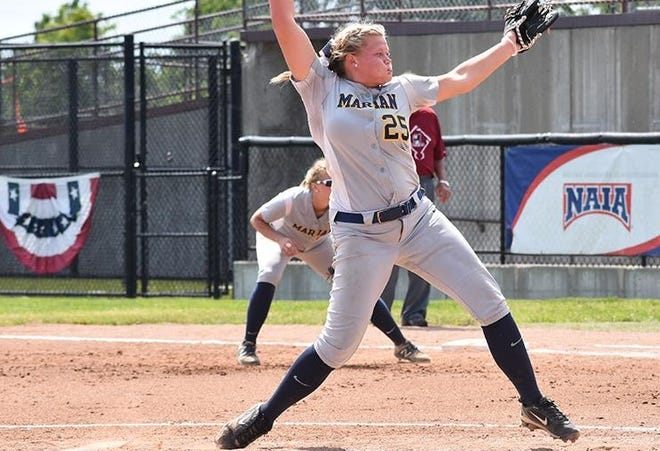 Standout senior pitcher Breena Smith led her team Wednesday to the World Series.