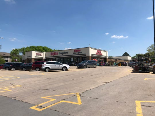 Hy-Vee Drugstore, located at 310 N. 1st Ave.,  is seen on May 15, 2019, after someone allegedly used a forklift to force their way into the store and steal cigarettes on May 7, shortly after midnight.