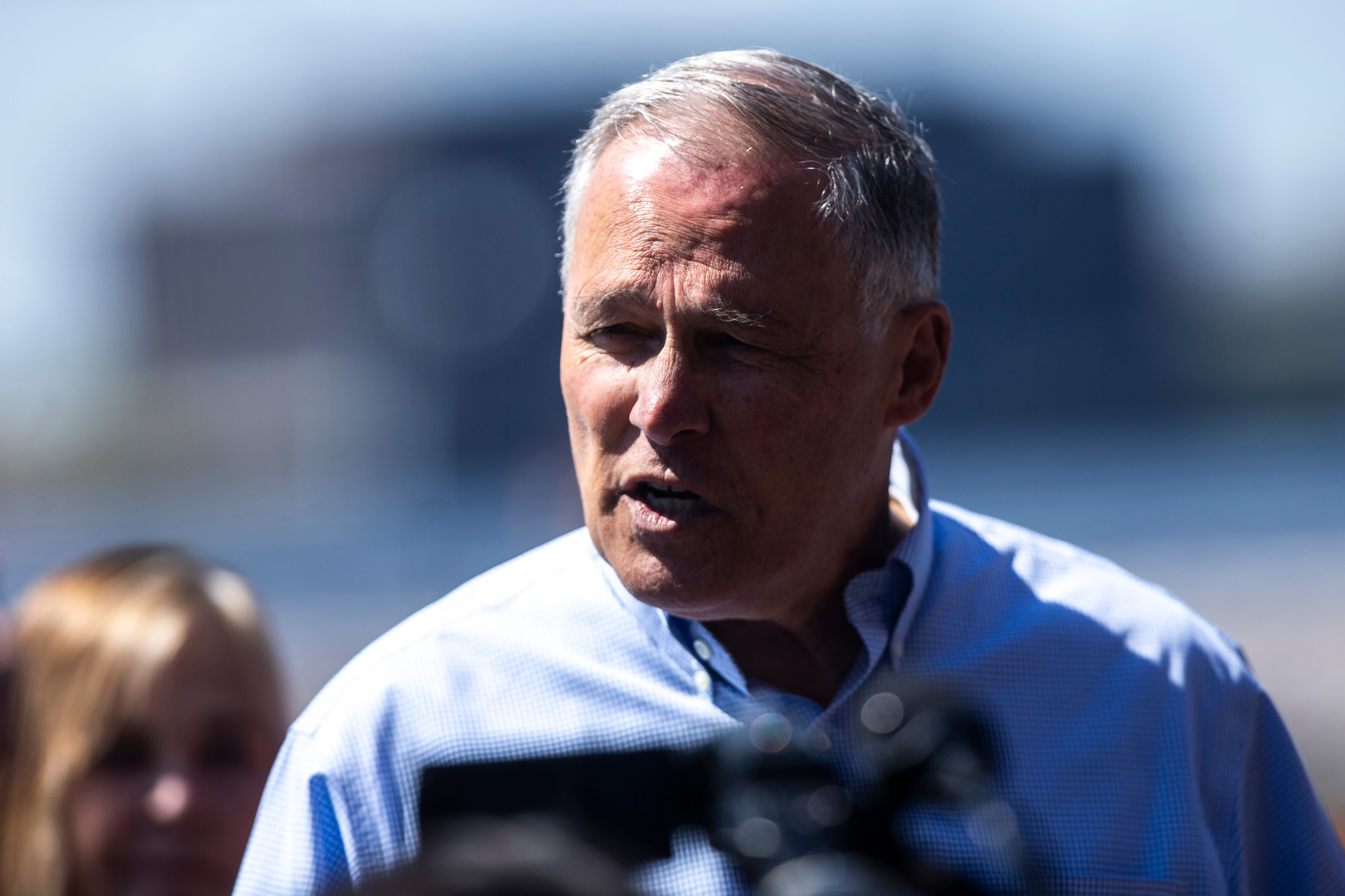 Jay Inslee: 'We ought to have a federal government that is protecting these people'