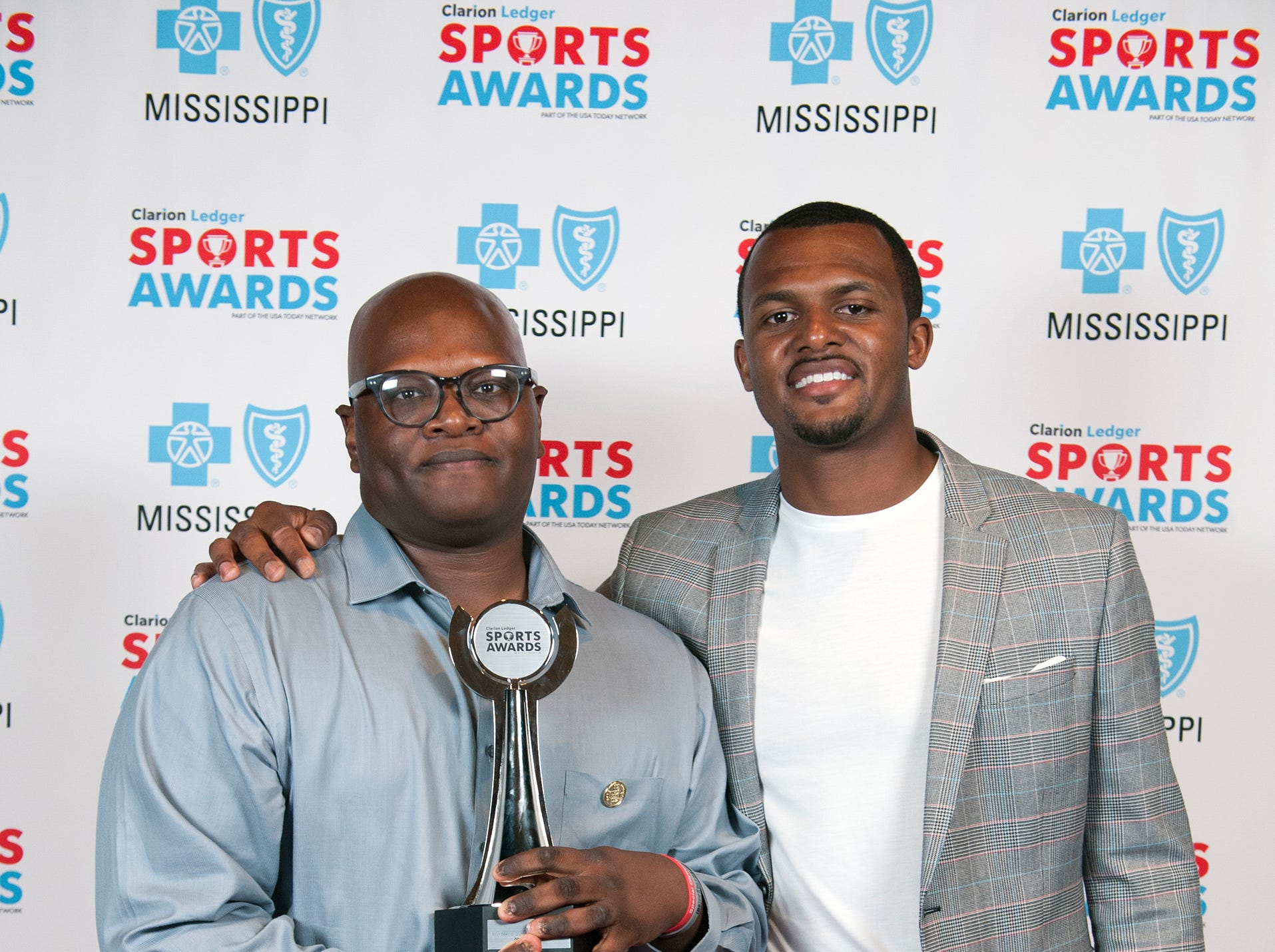 2109 Clarion Ledger Sport Awards with Deshaun Watson