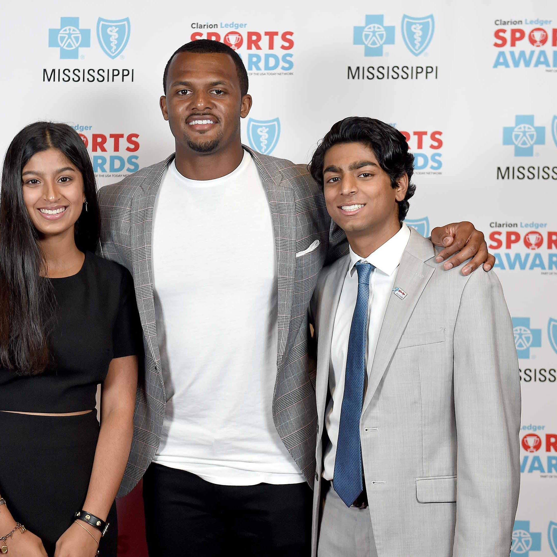 Mississippi Sports Awards honors 36 athletes as Deshaun Watson encourages attendees