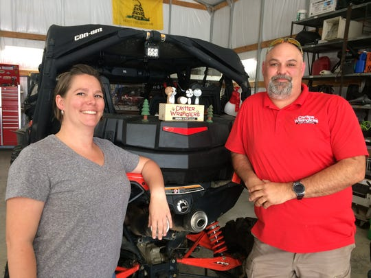 Matt Chitwood and his wife, Crystal, have built Critter Wranglers into the largest East Tennessee-based company of its kind.