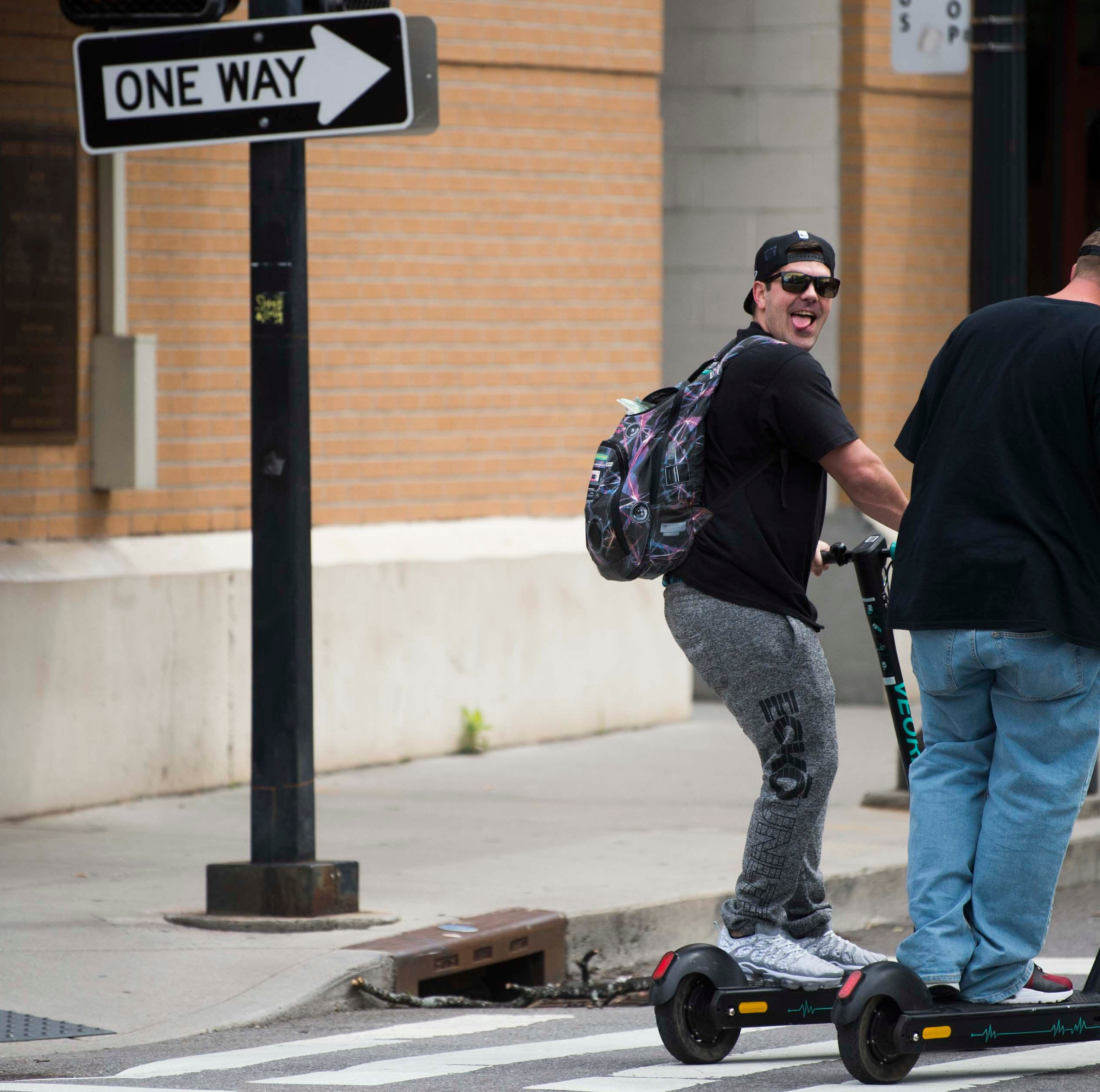 Will Nashville's electric scooter death affect Knoxville's pilot program?
