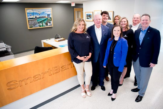 Top Workplaces winner SmartBank personnel at their headquarters, 5401 Kingston Pike, in Knoxville, Tennessee on Wednesday, May 15, 2019.