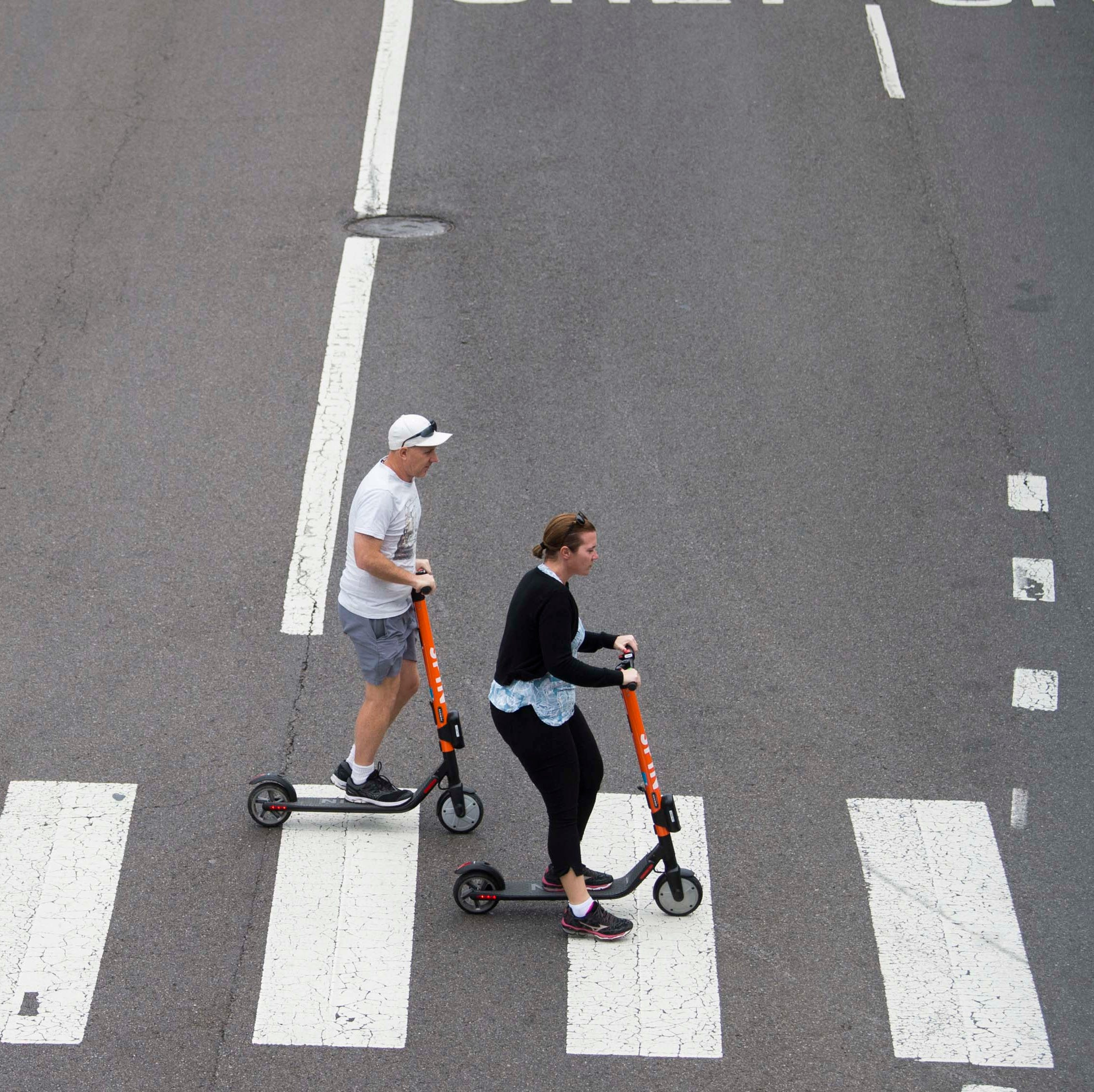Knoxville scooters: 7,000 trips in Week 1, but how many follow the rules?