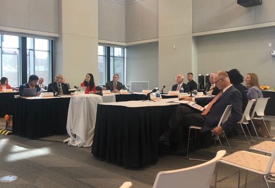 The campus advisory board met to discuss the proposed budget for fiscal year 2019-2020 on May 15, 2019.