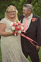 Mark Dills and Carla Patty were the first to have their wedding at The Picket Fence. May 4, 2019