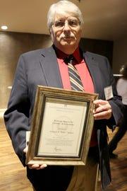 "Edward R. ""Eddie"" Walker III earned the Society's most prestigious honor: the Ramsey Lifetime Achievement Award."