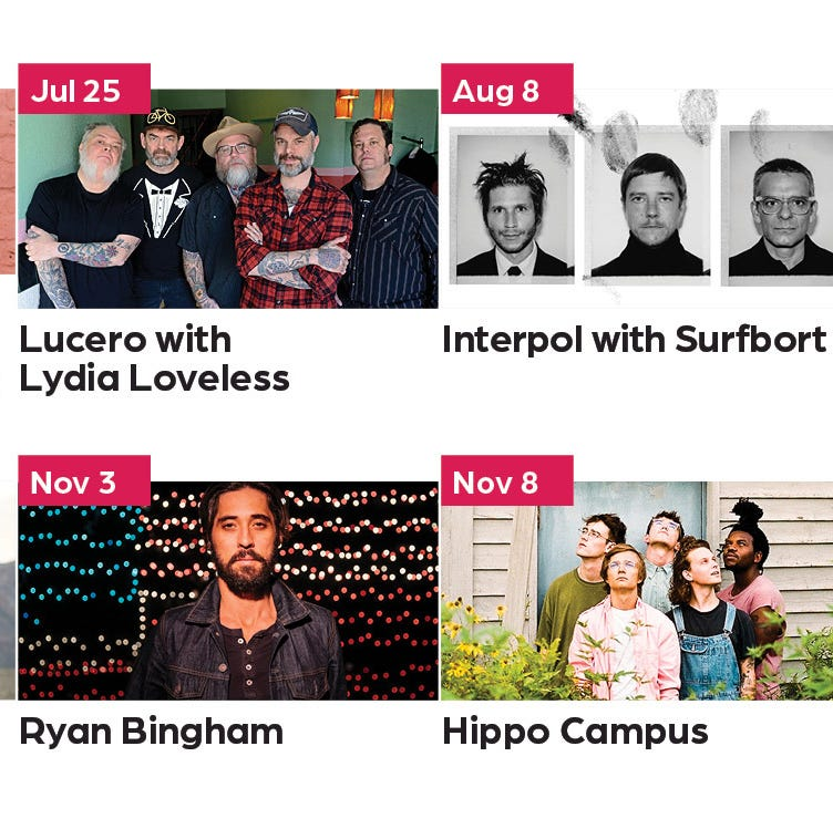 New Louisville music venue announces its first lineup, led by acts Lucero and Interpol