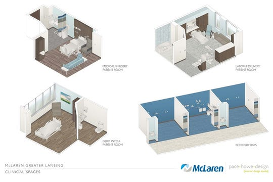 McLaren Greater Lansing's Patient Family Advisory Council was integral to new hospital designs.