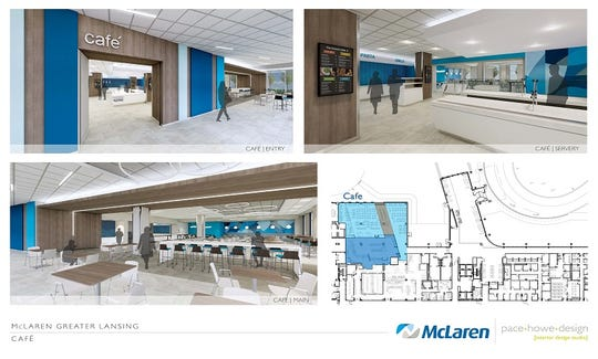 The new hospital will provide welcoming public and private areas that are state-of-the-art.
