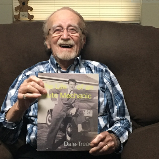 Vet pens book on his life from nursing home