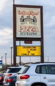 Organ Piper Pizza in Greenfield is celebrating 42 years in business. The popular restaurant features hand-made pizzas, sandwiches and other foods, along with musical entertainment from their Mighty Wurlitzer theatre pipe organ.