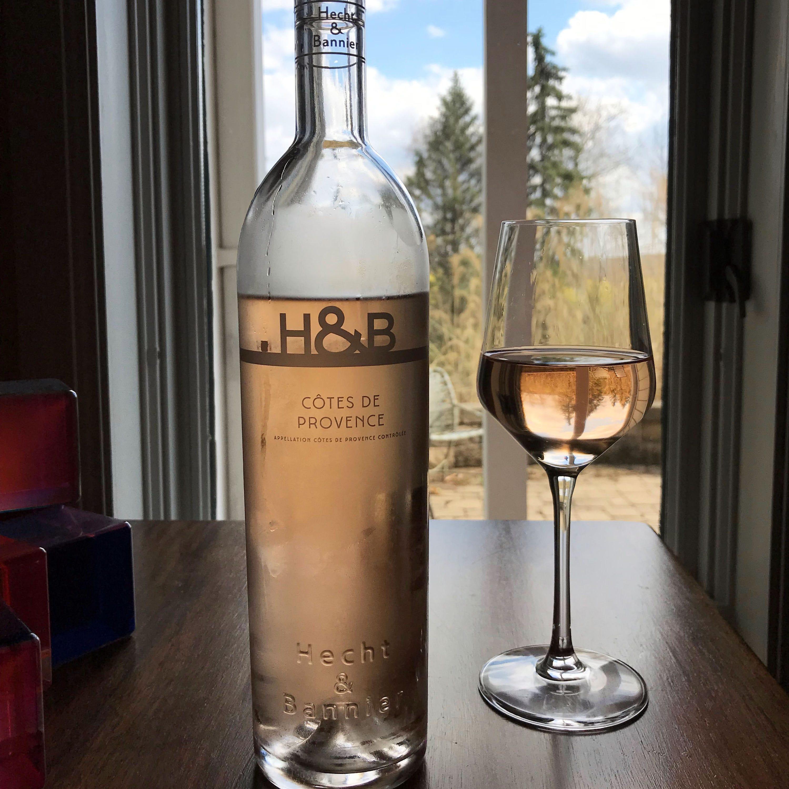 The 2018 Hecht & Bannier Cotes de Provence, made...