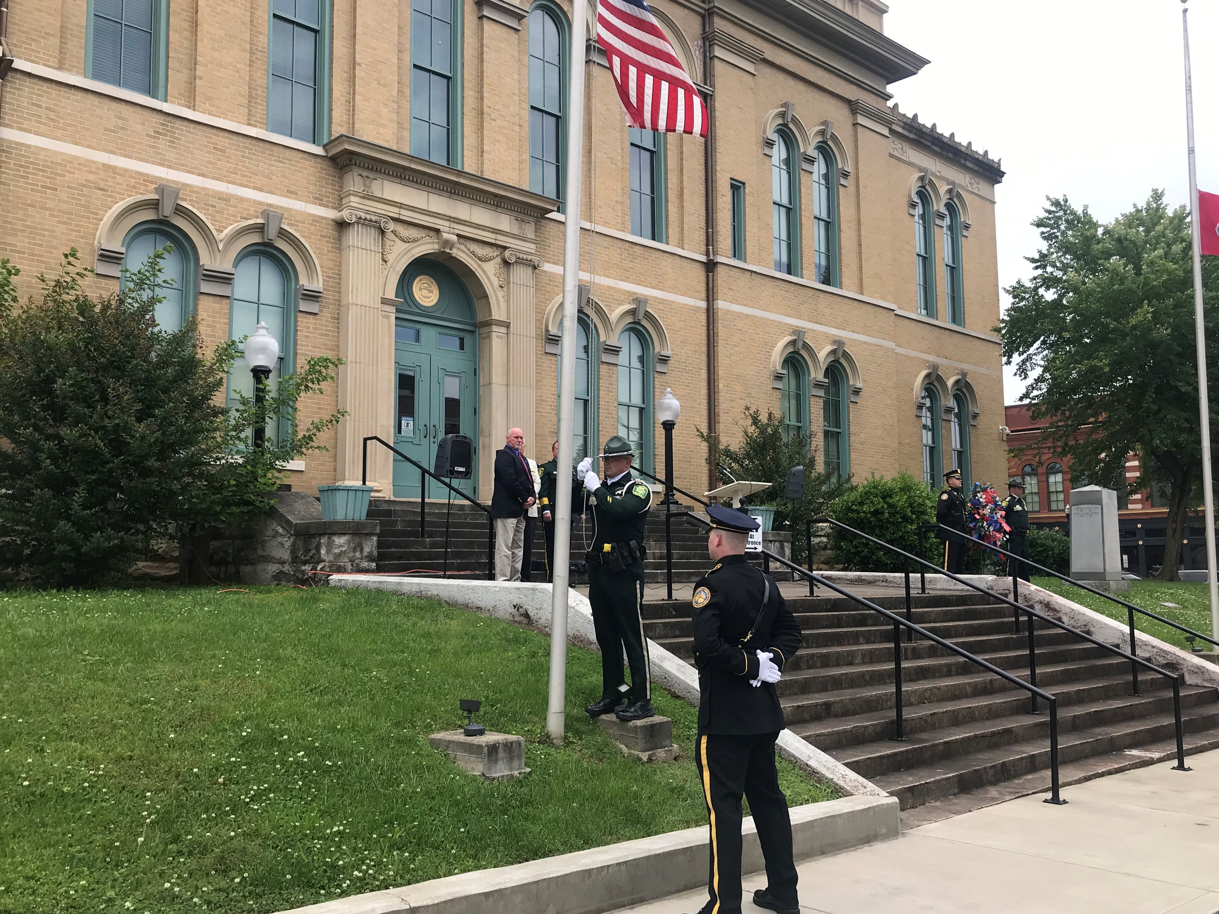 Robertson County's annual law enforcement memorial ceremony, coinciding with National Police Week, was held on Wednesday, May 15.