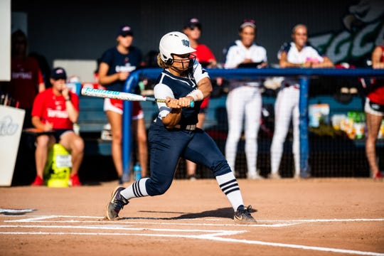 Lely graduate Navia Penrod finished her softball career at UNF as the school's all-time leader in batting average, on-base percentage, hits and stolen bases. She finished four runs short of being the school's all-time leader in that category.