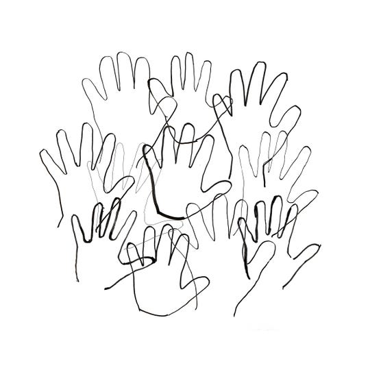 Hand Collage
