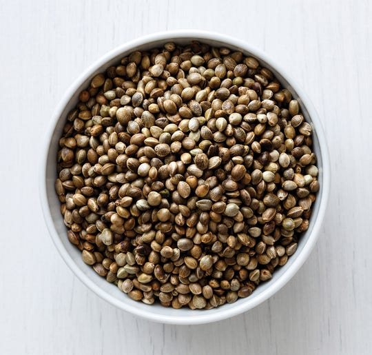 Hemp seeds are loaded with health-promoting omega-3 fatty acids.