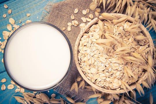 Oat milk is gluten-free and mild-tasting.
