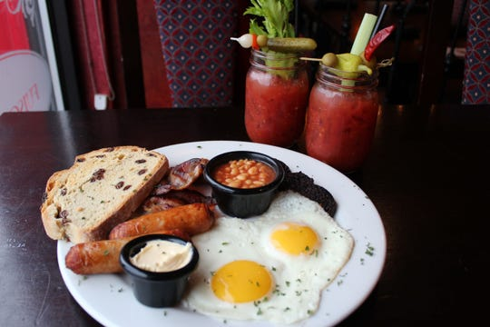 The Irish breakfast is a popular brunch item at Shannon Rose in Ramsey