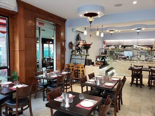 Saray Cusine's dining room is spacious