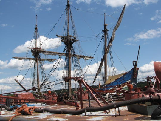 Athens, N.Y. once housed a replica of Henry Hudson's ship, the Half Moon. As of early 2019, the ship is in the Netherlands but is set to leave its home port in 2020.