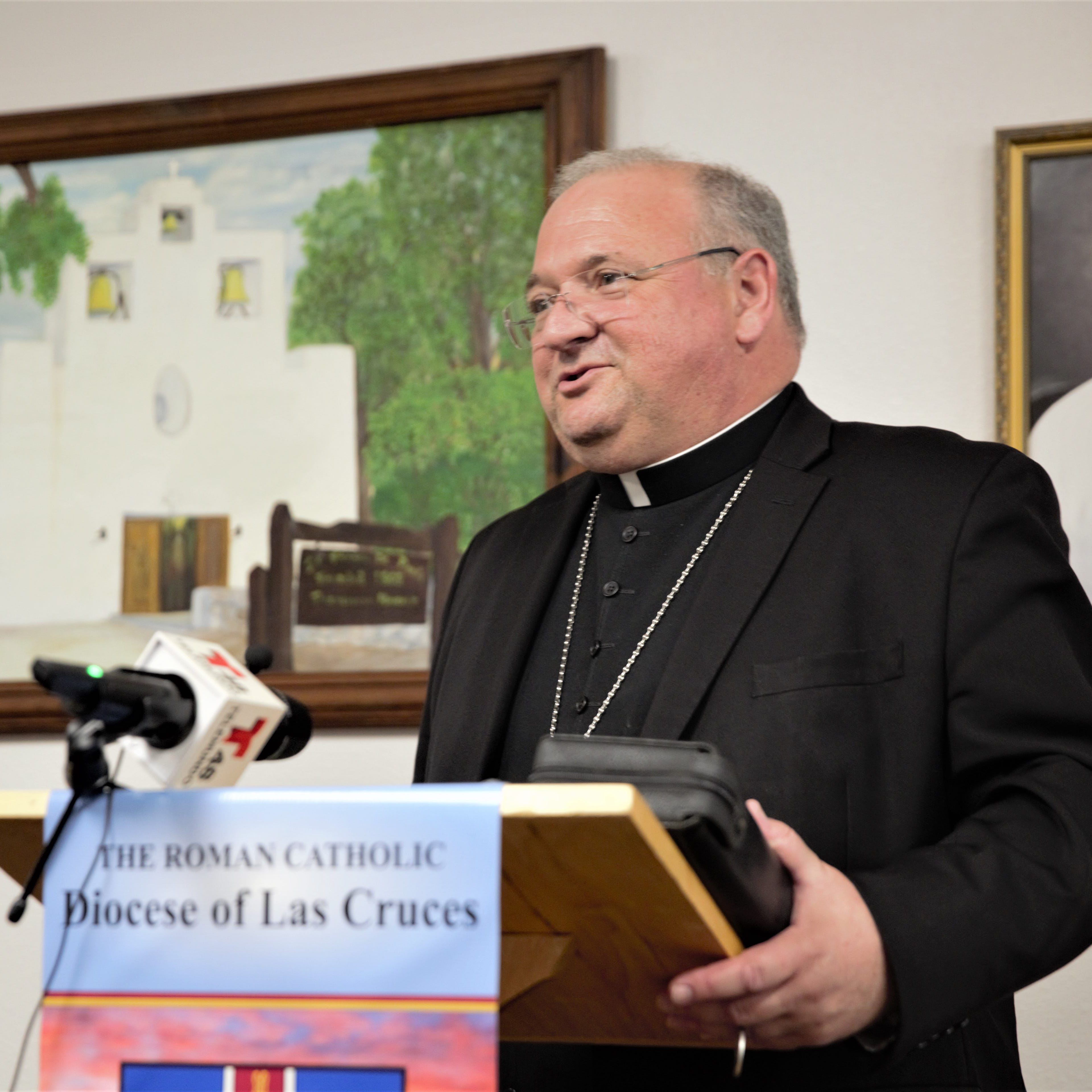 Pope Francis appoints Peter Baldacchino as new bishop of the Las Cruces Diocese