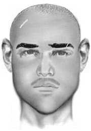 Kidnapping suspect composite sketch