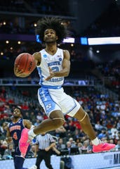 How would North Carolina Tar Heels guard Coby White look in a Phoenix Suns uniform?