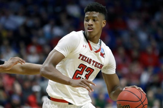 Texas Tech guard Jarrett Culver