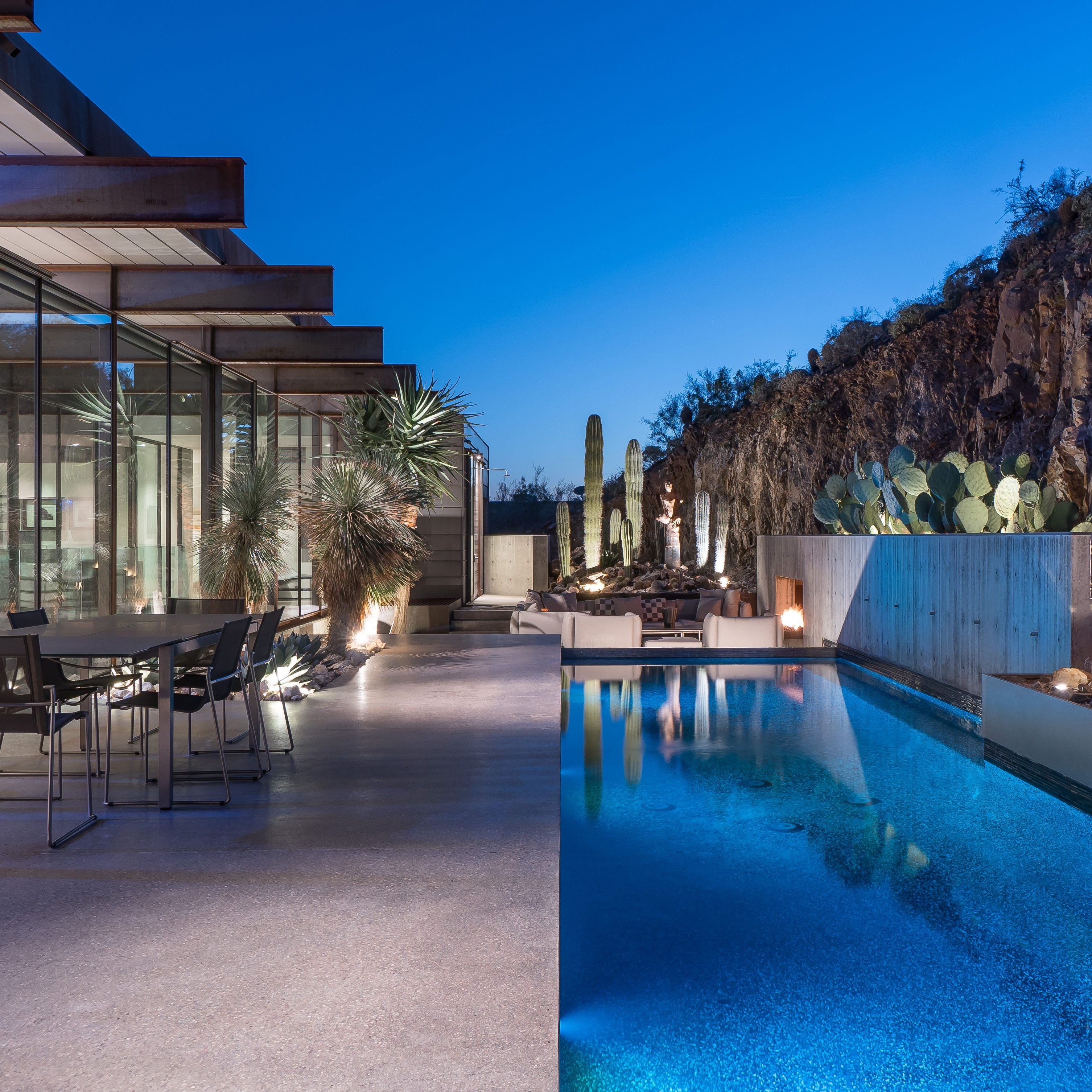 Paradise Valley house with metal exterior, walls of glass sells for $4.03M