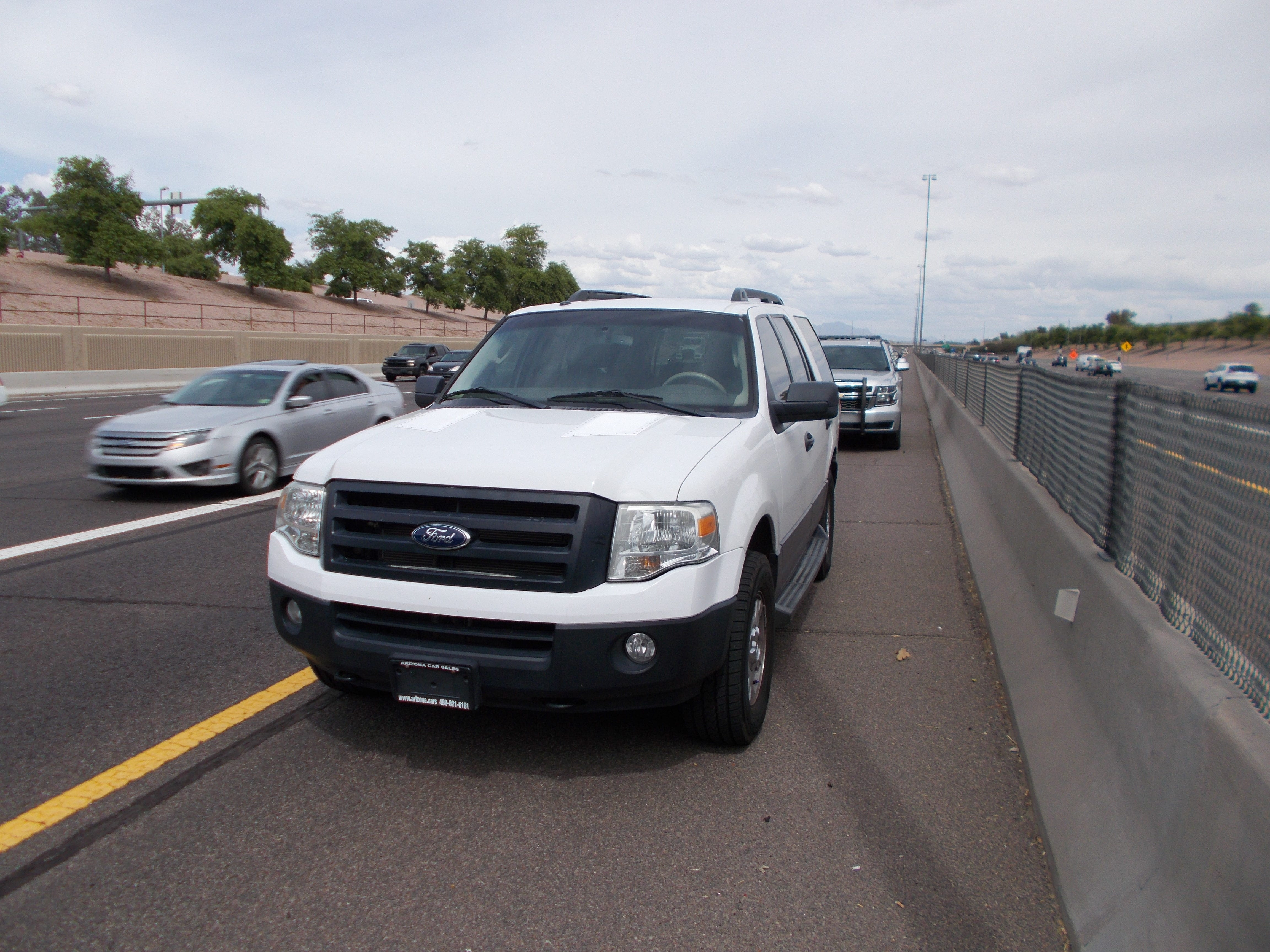 Arizona DPS arrested a man on suspicion of impersonating a police officer when making a traffic stop on U.S. 60 near Lindsay Road.