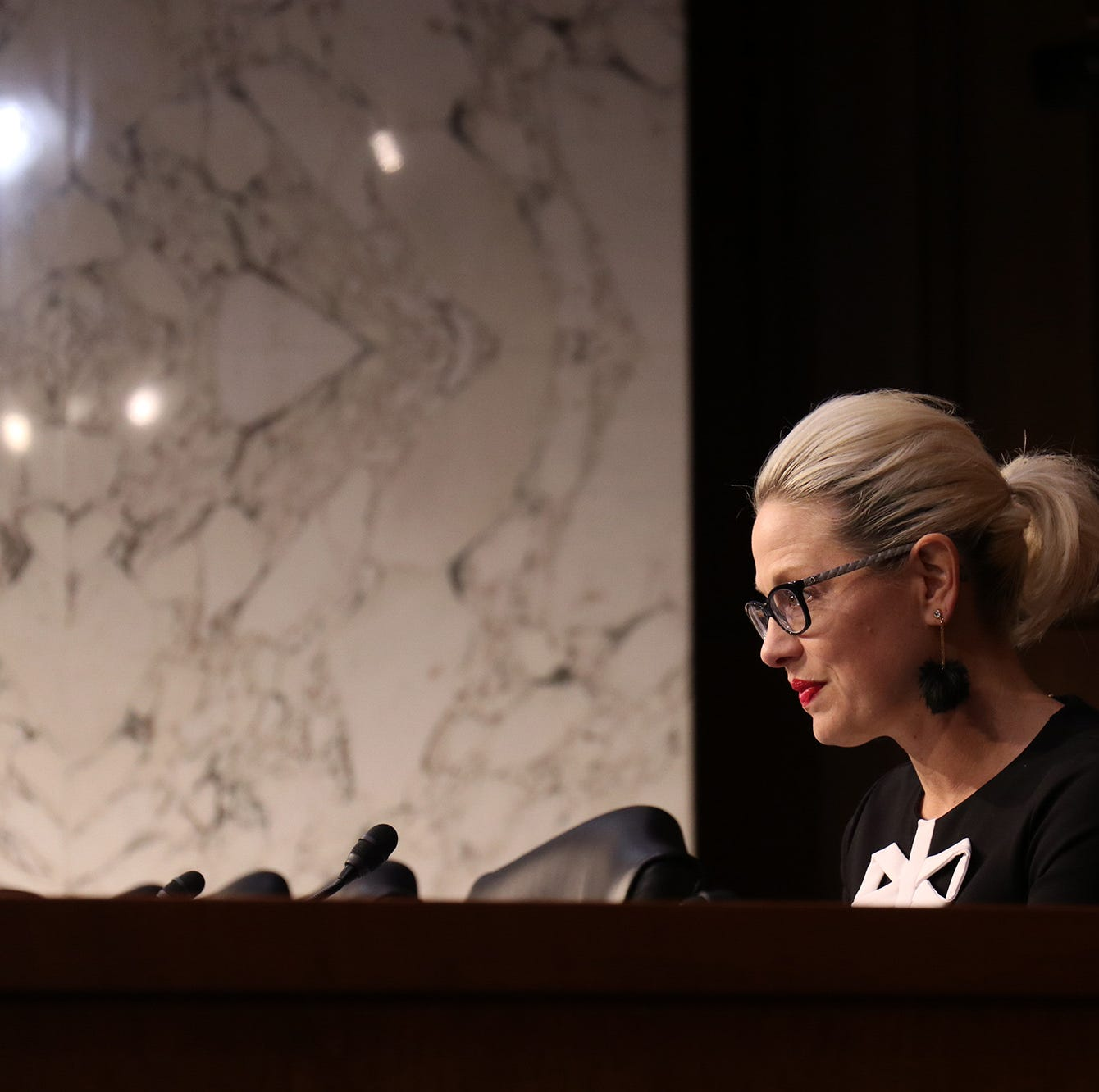 Sen. Kyrsten Sinema is still setting a very low Barr