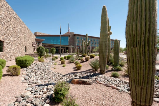 Greet the day with spectacular views of the surrounding Sonoran Desert and mountains at the We-Ko-Pa Resort & Conference Center.