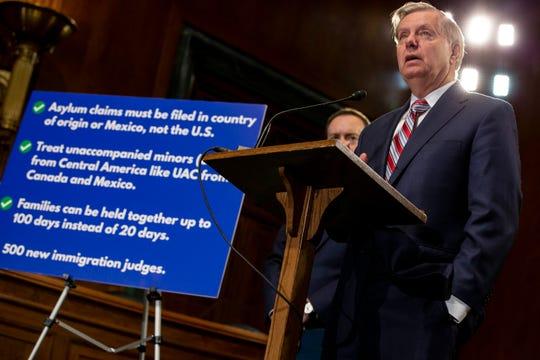 El senador Lindsey Graham habla sobre la urgencia de reformar el sistema migratorio de EEUU.