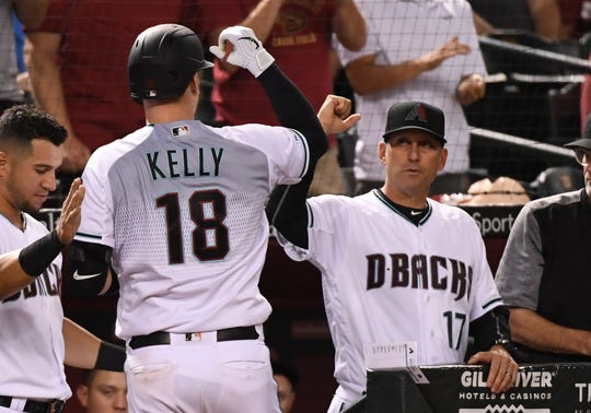 Carson Kelly disparó un vuelacercas por los D-backs.