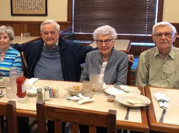 The 1946 Red Lion High School Class reunion luncheon at Lion's Pride restaurant on Wednesday, April 25, 2019. 