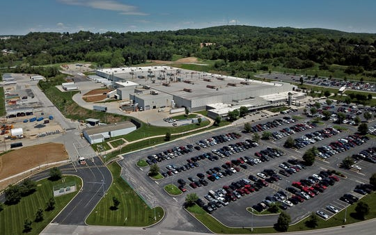 The Harley-Davidson York plant.