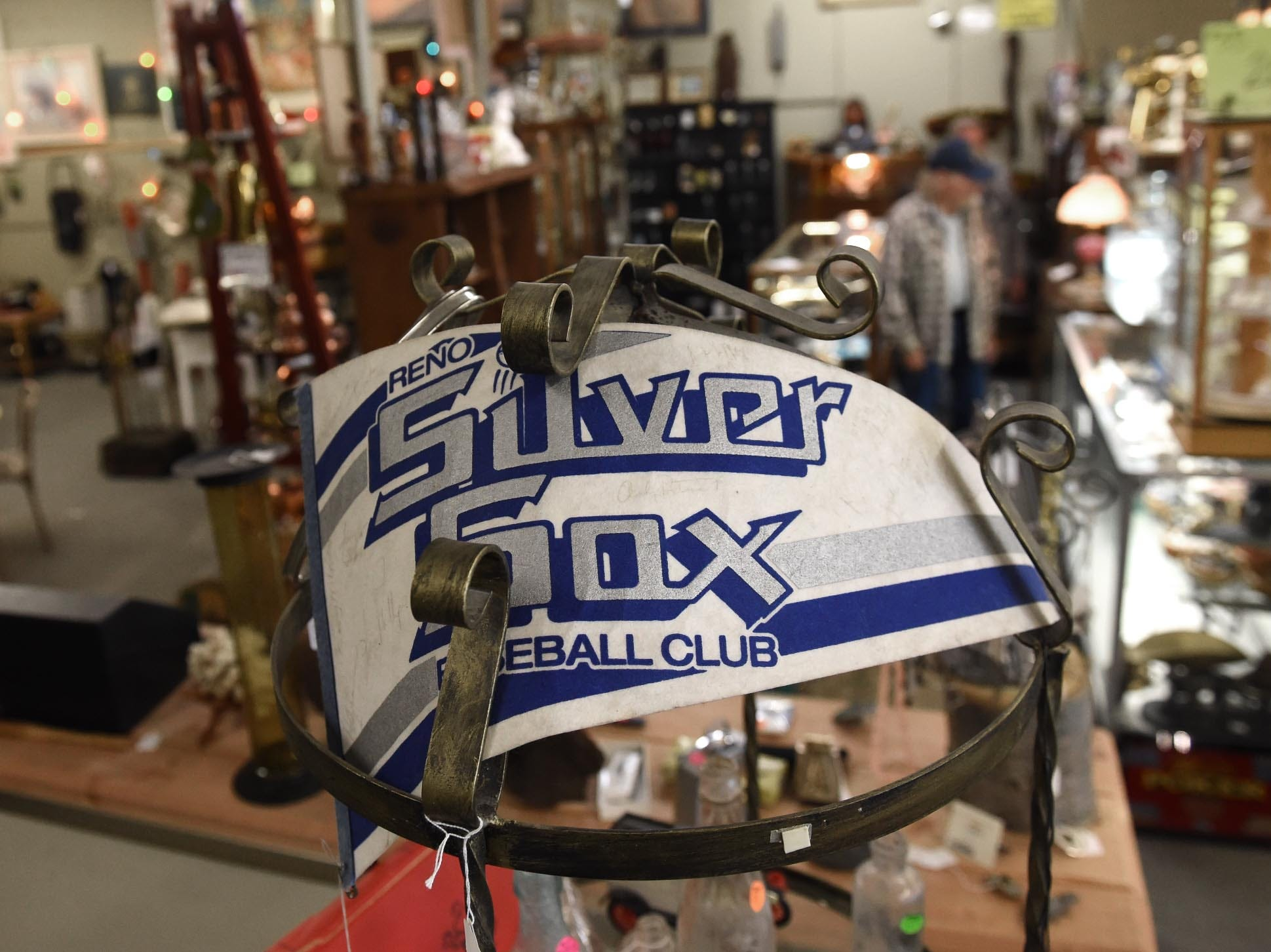 Images of items on sale at the Virginia Street Antique Mall, which is closing its doors at the Virginia Street location after 26 years.