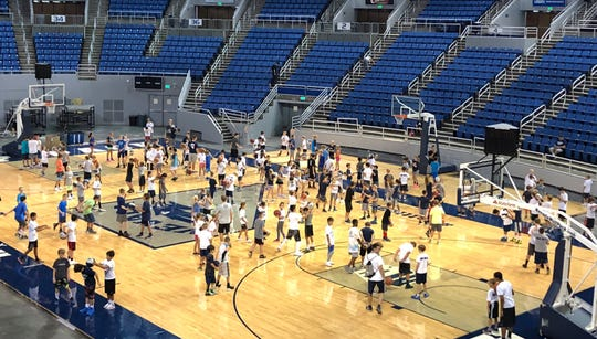 Nevada has announced three summer basketball camps for 2019.