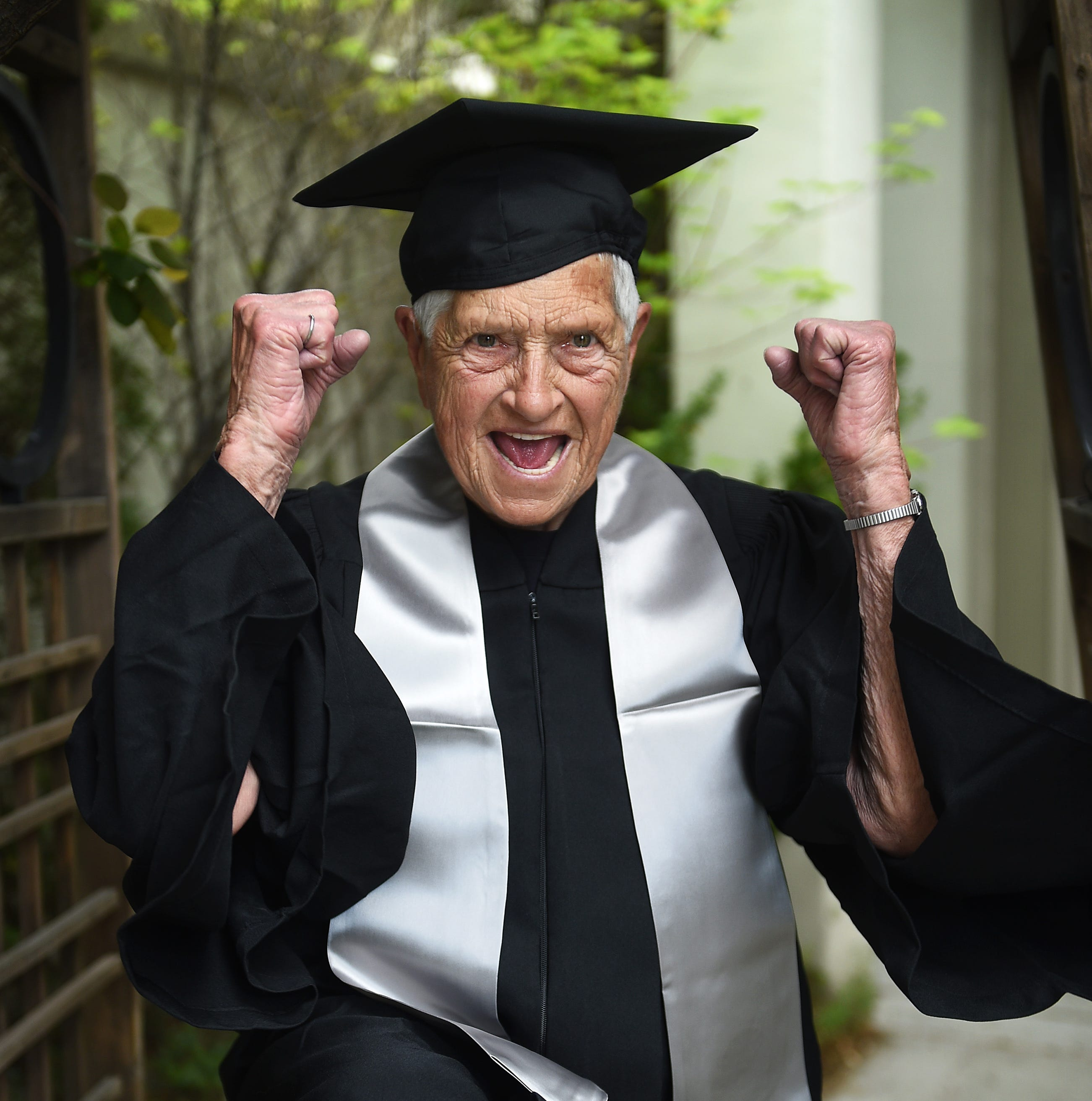 Reno woman, 90, who will walk at UNR's graduation ceremony, says 'dreams do come true'
