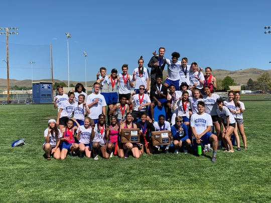 The McQueen boys and girls track and field teams won Northern 4A Regional championships on Saturday.